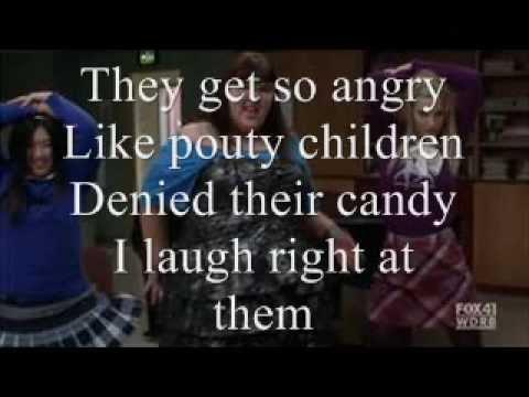 I Know What Boys Like Glee Lyrics