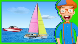 Boats for Preschoolers | The Blippi Boat Song