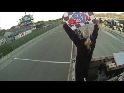 Checkered Flag - 2013 Laguna Seca - ALMS - Tequila Patron - ESPN - Racing - Sports Cars