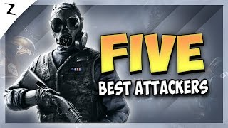 5 Best Attacking Operators - Year 3 - Rainbow Six Siege
