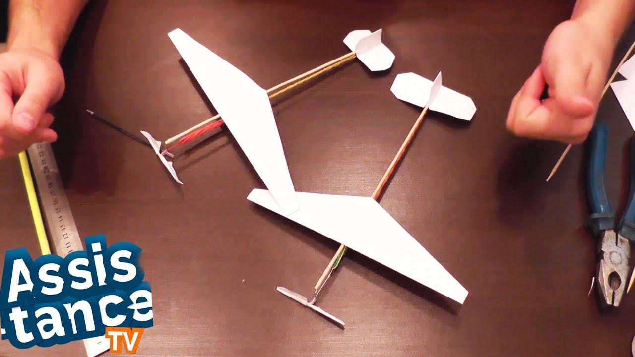 Как самому сделать летающею модель