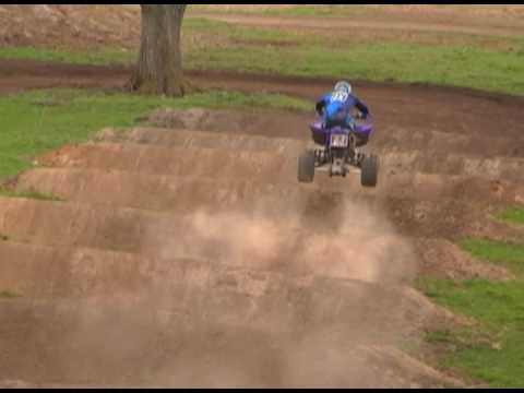 Yamaha's Thomas Brown ATV Motocross Practice Session Video