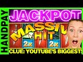 CLUE : BIG JACKPOT HAND PAY WIN #1 - KITCHEN BONUS - WMS SLOT MACHINE