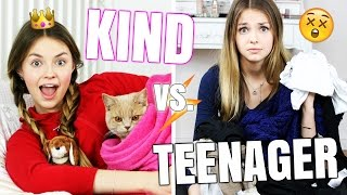 MORGENROUTINE - KIND vs. TEENAGER | XLAETA