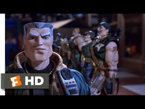 Small Soldiers Movie Clip - watch all clips http://j.mp/zaaEXO click to subscribe http://j.mp/sNDUs5 Chip Hazard (Tommy Lee Jones) escapes from his box and a...