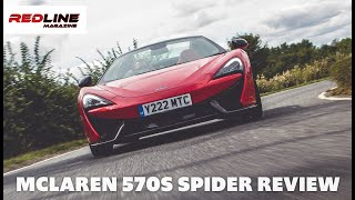 McLaren 570S Spider Review - Sports Series McLaren tested, but is it better than an Audi R8 V10?