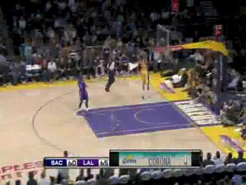 Dunk of the Night (04/13/2010): Shannon Brown Steal and Monster Two-Handed Slam vs. Kings