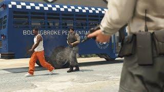 GTA 5 - Các bước chuẩn bị và đột nhập vào nhà tù liên bang cứu người   ND Gaming