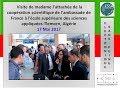 F 3 Visite De Madame L Attachée De La Coopération Scientifique De L Ambassade De France à L ESSAT mp3