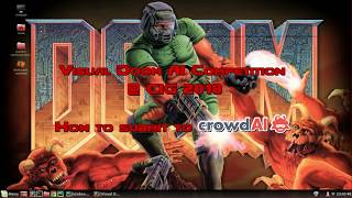 Visual Doom AI Competition @ CIG 2018: How to submit to crowdAI?