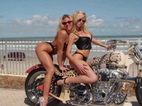 HOT SEXY LADIES & COOL BIKES Video