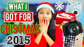 What I Got For Christmas 2015!! + GIVEAWAY