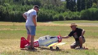 "RC Warbird The Legendary AT-6 ""Texan"" Radio Controlled Model Aircraft"