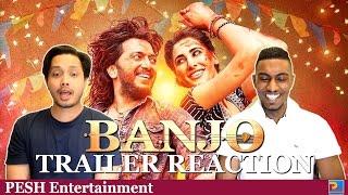 Banjo Trailer Reaction & Review | Ritesh Deshmukh | PESH Entertainment