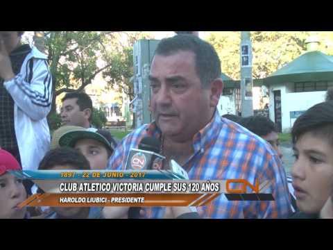 Los actos conmemorativos del 120 años Club Atlético Victoria fueron declarados de interés municipal por el Concejo Deliberante