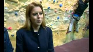 Princess Beatrice and Holly Branson on Mont Blanc climb