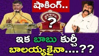 Sensational News: Will Chandrababu Give his Post To Balayya | Tdp Party Future | Ys Jagan - News220