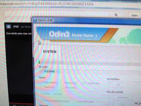 INSTALAR ROM OFICIAL + ROOT GALAXY S3 - ODIN V3.04