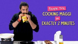 Ok Tested: People try Cooking Maggi In Exactly 2 Minutes