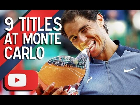 Rafael Nadal - 9 Titles at Monte Carlo ᴴᴰ