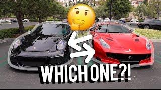 Ferrari F12 TDF or Porsche GT3RS?