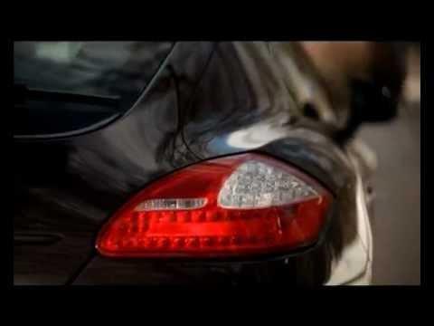 PORSCHE Panamera S Hybrid: Тест-драйв в программе Москва Рулит.