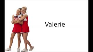 Watch Glee Cast Valerie video