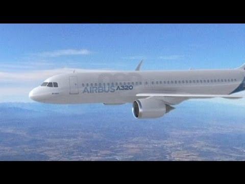 Merkel visit marks major Airbus order
