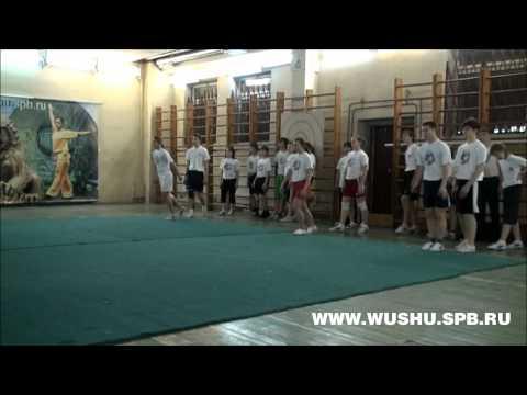 Shanghai Wushu Team in St Petersburg   2011