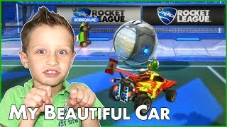 Driving My Beautiful Car! / Rocket League