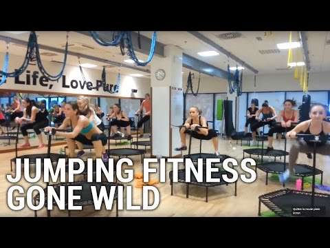Jumping Fitness Gone Wild