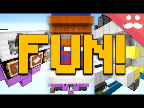 5 FUN GAMES to Play in Minecraft!