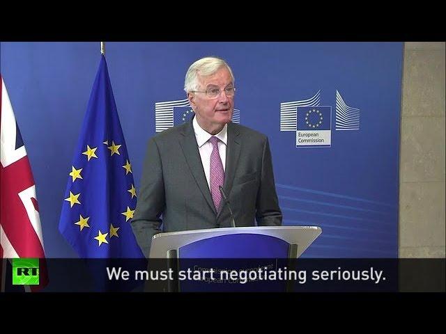 "Barnier meets Davis: ""We must start negotiating seriously"""
