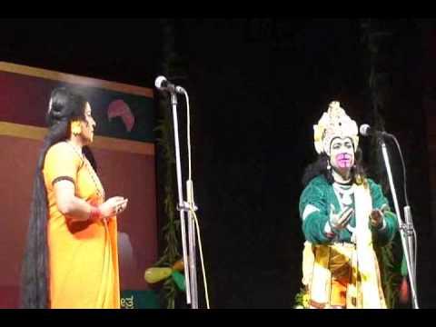 Cine actress Umashri acts as Anjaneya-Mythological drama vol3