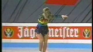 Tonya Harding (USA) - 1991 World Figure Skating Championships, Ladies