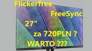 Szybki test AOC 27V2Q Elektrotesty.pl