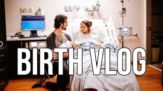 Birth Vlog *real and raw* birth of our first child!