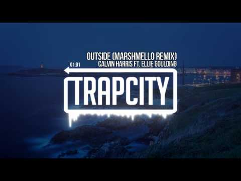 Calvin Harris ft. Ellie Goulding - Outside (marshmello remix)