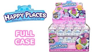 Shopkins Happy Places Season 2 Blind Box Full Case Unboxing Delivery Boxes Opening Entire Case