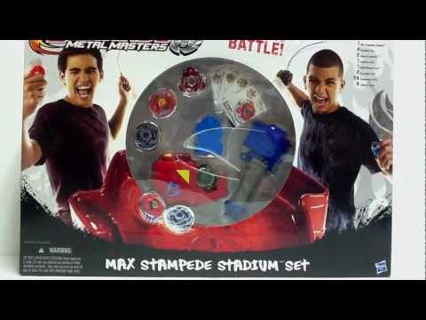 [HD] Max Stampede Stadium Battle Set Unboxing