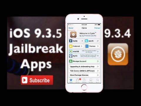 Jailbreak - How to install cydia on IOS 9.3.4 and 9.3.5