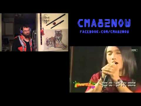 Charice with Arnel Pineda-Alone-ASAP '08-REACTION