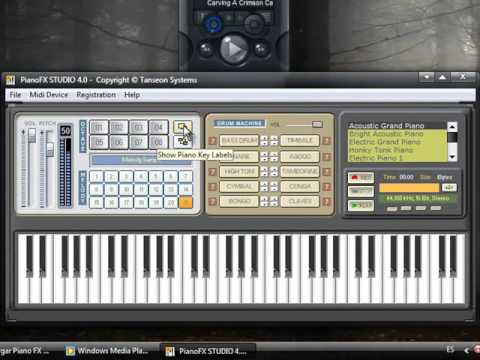 Piano FX, sintetizador o teclado en tu computador gratis