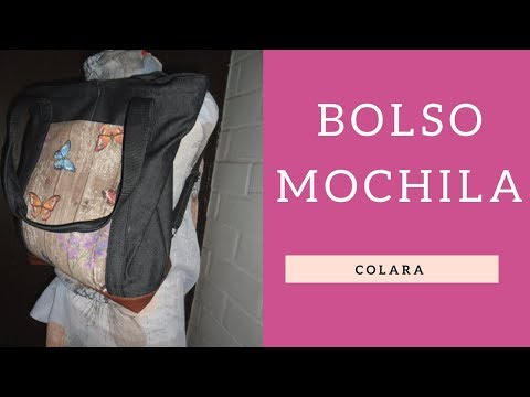Bolso Mochila Facil y Rapido Paso a Paso // Bag backpack Step by Step 2018