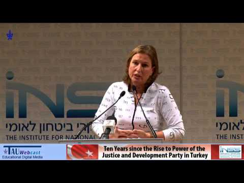 Tzipi Livni - Foreign Policy in Changing Times