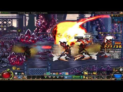 [Dungeon Fighter] Trombe Power Plant (King) - Kunoichi
