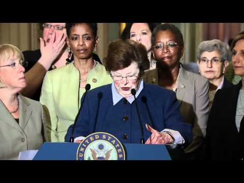 Senator Mikulski Speaks Following Republican Filibuster of Paycheck Fairness Act