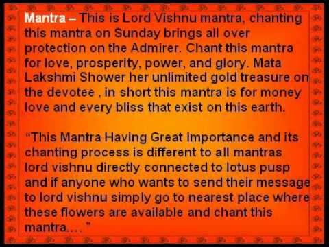 Lakshmi Narayan Sadhana - Lakshmi Sadhana For Wealth Prosperity And Abundance video
