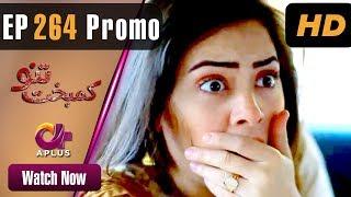 Kambakht Tanno - Episode 264 Promo | Aplus ᴴᴰ Dramas | Tanvir Jamal, Sadaf Ashaan | Pakistani Drama