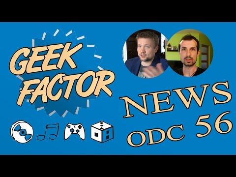 Geek Factor News 56 - Star Wars Ep 8, Transformers 5 i Deadpool 2